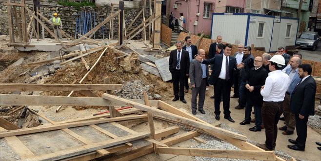 Bursa'ya yeni bir pazar yeri ve otopark