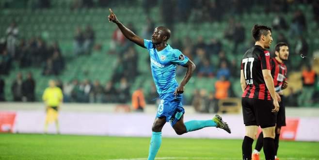 Bursaspor'un en hırçını Dany
