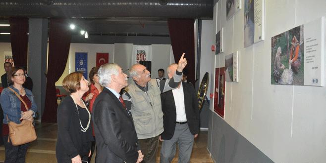 'Kırsalda Kadın' fotoğrafları Bursa Göç Tarihi Müzesi'nde