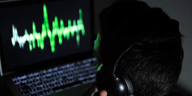 5 ilde 'usulsüz dinleme' operasyonu