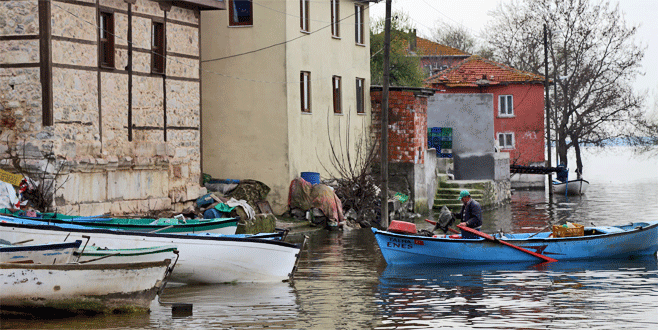 Gölyazı 'Küçük Venedik'e döndü