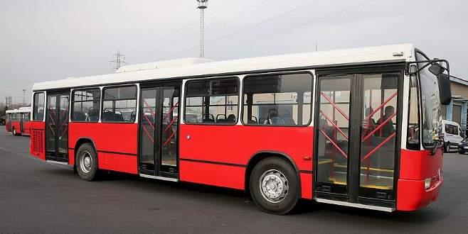 İşte Gana'ya hediye edilen otobüsler