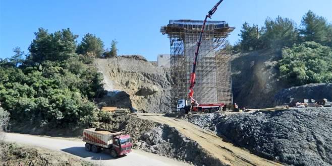 Mudanya-Gemlik çevre yolunda çalışmalar hızlandı