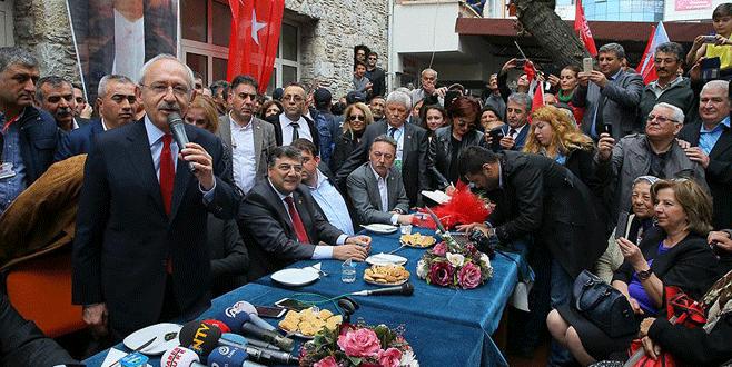 Kılıçdaroğlu: 'İlk 4 maddeye dokundurtmayız'