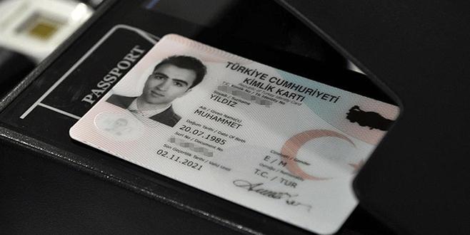 Çipli kimlik kartlarına geçiş yarın başlıyor