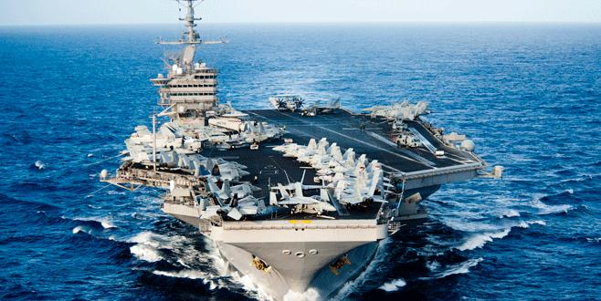 ABD nükleer uçak gemisi Güney Kore'de