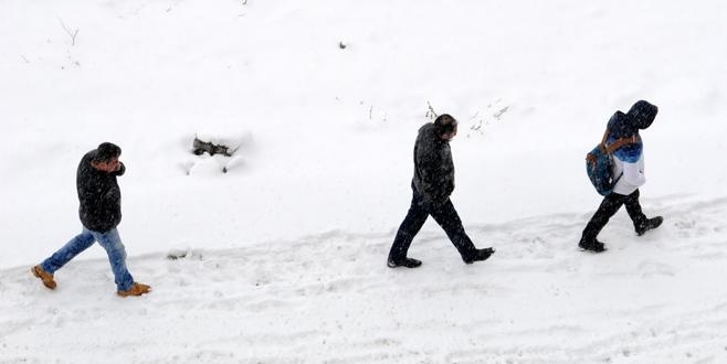 Mart ortasında kış