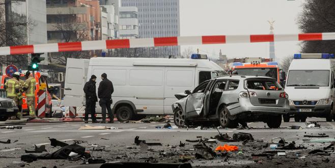 Patlamada ölen şoför Türk çıktı