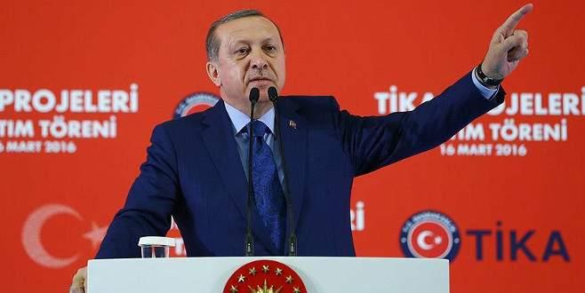Erdoğan: 'Mücadelemiz adeta yeni bir kurtuluş mücadelesidir'