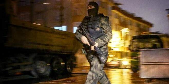 Bin polisle PKK operasyonu