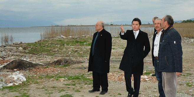 İznik Gölü için Aydın'dan soru önergesi