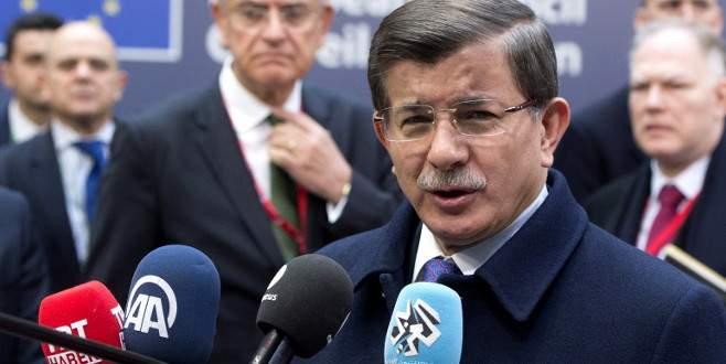 Davutoğlu: 'Ortak hedef için çalışıyoruz'