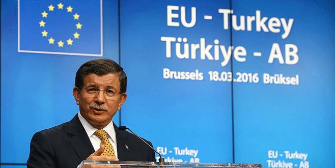 Davutoğlu PKK çadırına izin veren Belçika'ya sitem etti