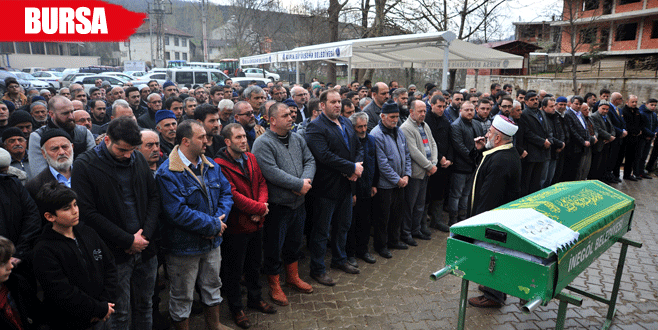 Almanya'da patlamada ölen Türk Bursa'da toprağa verildi