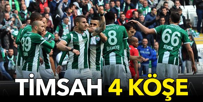 Bursaspor 4 köşe: 4-1