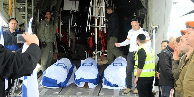 3 İsrail vatandaşının cenazesi ülkelerine gönderildi