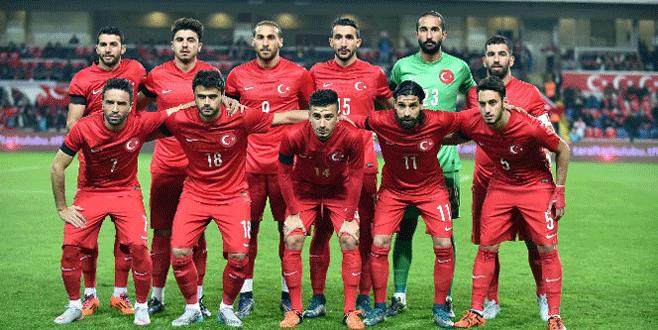 A Milli Futbol Takımı'nın programında değişiklik