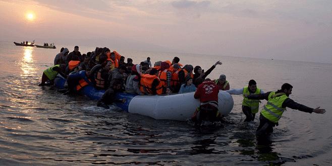 Midilli'de sığınmacı kaosu