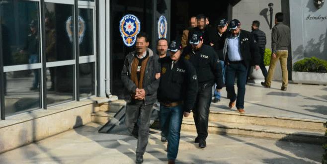 Bursa'da terör propagandasına 6 tutuklama!