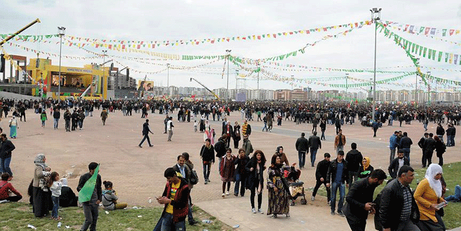 Diyarbakır'da nevruz etkinliği ilgi görmedi