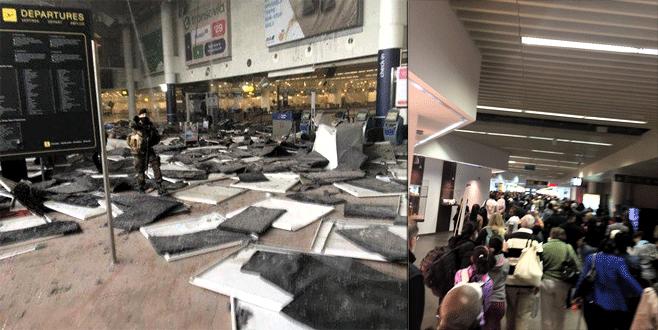 Terör Avrupa başkenti Brüksel'i vurdu!