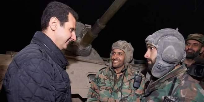 Rus uçakları Esad'ın elit askerlerini vurdu
