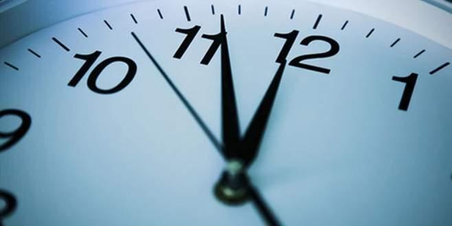 Saatler ileri alınıyor!