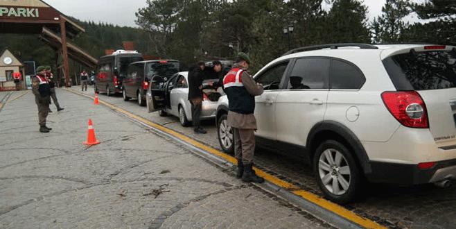 Uludağ'da güvenlik önlemleri artırıldı