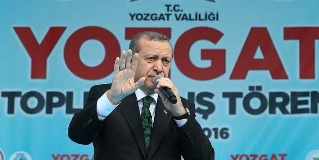 Erdoğan: Pensilvanya'dan beddualar sallıyor, hangisi tutuyor?
