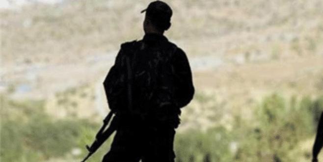 Kuzey Irak'ta 1 Türk askeri şehit oldu