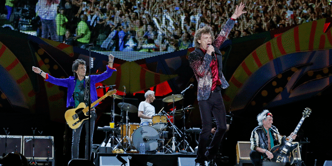 Rolling Stones'tan Küba'da konser