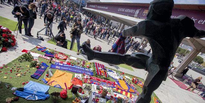 Johan Cruyff için anma töreni yapıldı