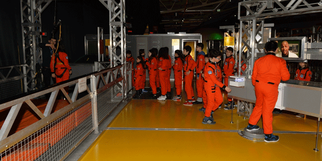 Küçük astronotlar ikinci kez 'Mars'a gidiyor