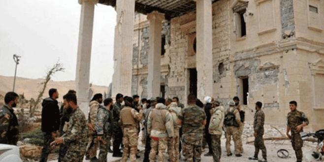 Esad ordusu Palmira'yı tamamen geri aldı