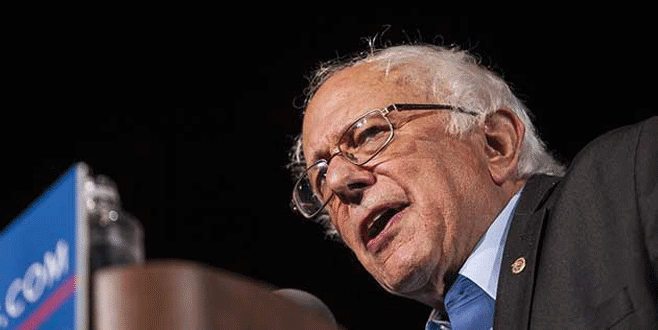 Sanders, Clinton'ı geride bıraktı