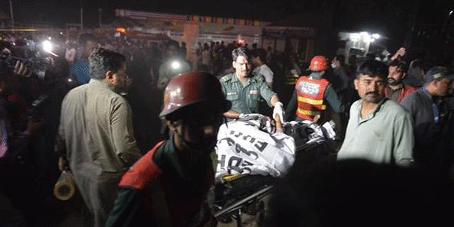 Şiddetli patlama: Çok sayıda ölü var