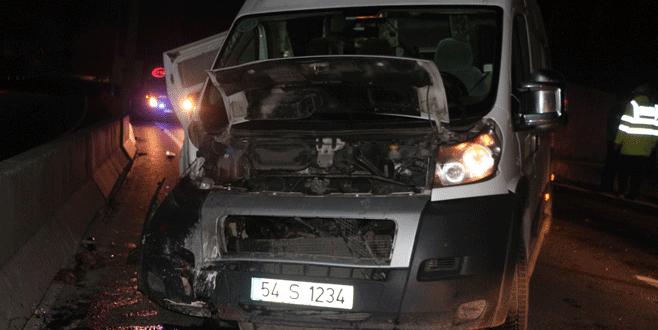 Düğün dönüşü feci kaza: 1 ölü, 17 yaralı
