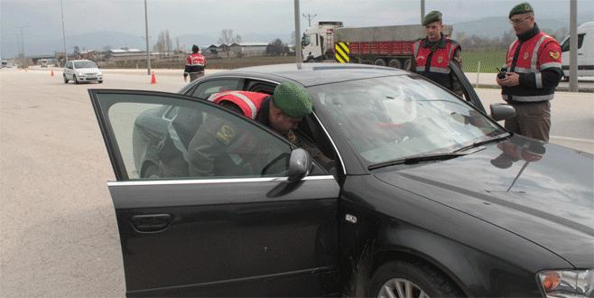 Bursa'da Jandarma göz açtırmadı