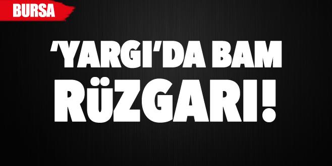 Bursa'da 5 hakim ve iki savcıya yeni görev
