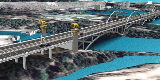 En uzun dördüncü köprü Bahçeli'nin adını taşıyacak