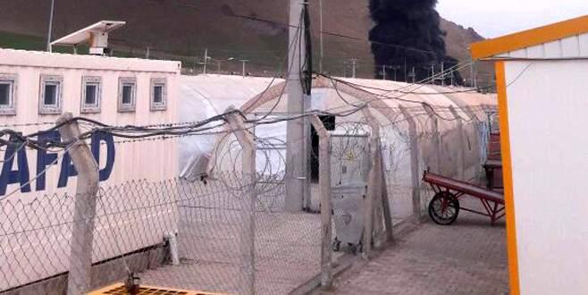 Çadır kentte yangın: 3 çocuk öldü