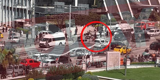 Bursa'da trafik kazası: Araç takla attı!