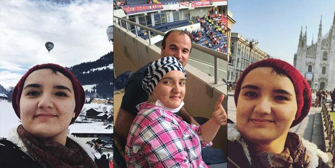 Ayşenur kanseri yendi, tek başına Avrupa turuna çıktı