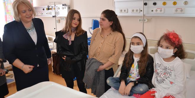 Çocuk Nefroloji Kliniği yenilendi