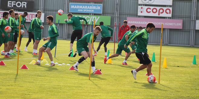 Bursaspor'da eksikler tamamlanıyor