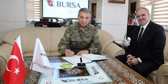 Orgeneral Galip Mendi, Bursa'da