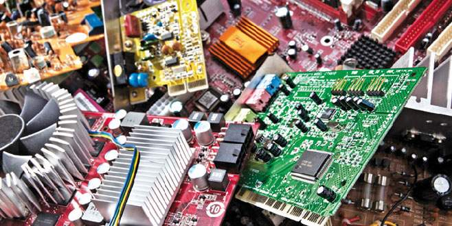 Elektronik atıklar dönüştürülecek