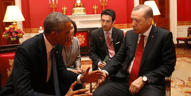 Erdoğan ve Obama Beyaz Saray'da görüştü