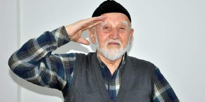 79 yaşında 3'üncü kez askere çağrıldı