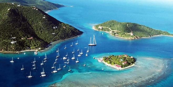 Dünyanın parası 'vergi cenneti' adalarda